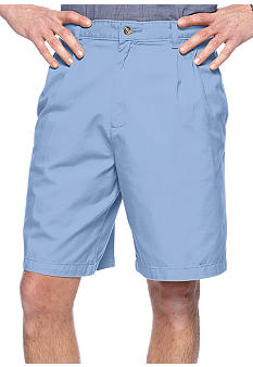 Saddlebred® Big & Tall Pleated Twill Shorts