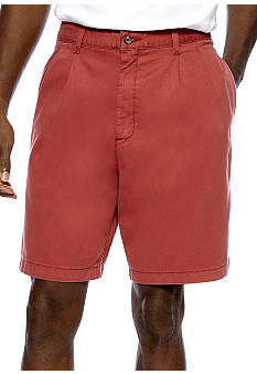 Saddlebred Pleated Cell Pocket Shorts