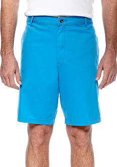 Saddlebred® Flat Front Cell Pocket Shorts