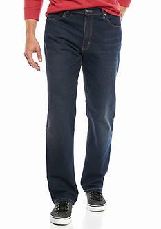 Saddlebred Big & Tall 5 Pocket Straight Fit Stretch Jeans