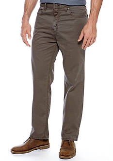 Saddlebred® Straight Fit Flat Front Pants