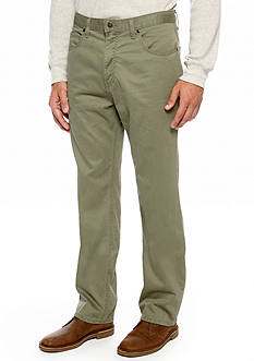 Saddlebred® Straight Fit Flat Front Pants