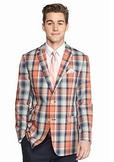 Tallia Orange Slim-Fit Sport Coat