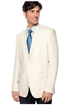 Tallia Orange Slim Fit Linen Sportcoat