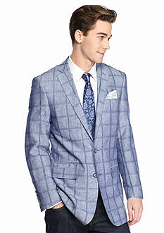 Tallia Orange Slim-Fit Sport Coat