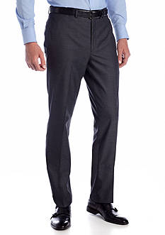 Tallia Orange Slim Fit Gray Tic Suit Separate Pants