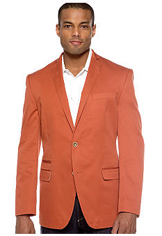 Tallia Orange Slim-Fit Sportcoat