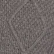 Saddlebred®: Medium Gray Heather Saddlebred Fisherman Sweater