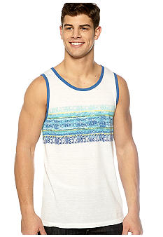 Red Camel Tribal Stripe Tank