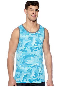 Red Camel Distressed Camo Tank