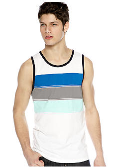 Red Camel Triple Chest Stripe Tank