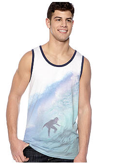 Red Camel Surfer Graphic Tank