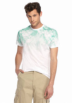 Red Camel Short Sleeve Floral Ombre Tee