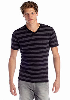 Red Camel® Easy Stripe V-neck Tee