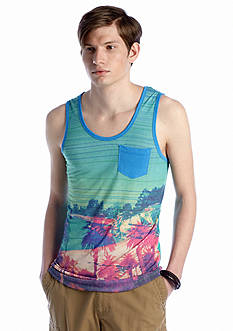 Red Camel® All Over Sunset Tank