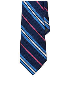 Lauren Ralph Lauren Neckwear Four-Color Striped English Repp Tie