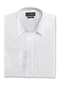 Lauren Ralph Lauren Dress Shirt Classic-Fit Non- Iron Bennett Twill
