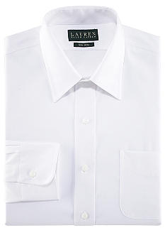 Lauren Ralph Lauren Dress Shirt Classic-Fit Non-Iron Pinpoint Oxford