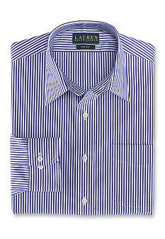 Lauren Ralph Lauren Dress Shirt Classic-Fit Non- Iron Bennet Stripe Broadcloth