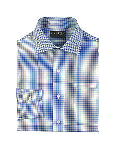 Lauren Ralph Lauren Dress Shirt Classic-Fit Warren Tattersall Cotton Dress Shirt