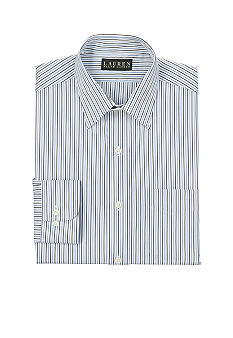 Lauren Ralph Lauren Dress Shirt Classic-Fit Bennett Striped Cotton Dress Shirt