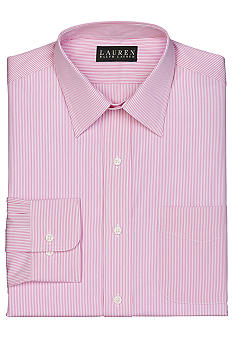 Lauren Ralph Lauren Dress Shirt Slim Fit Stripe Dress Shirt