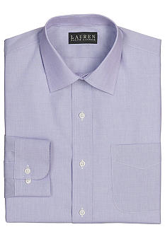 Lauren Ralph Lauren Dress Shirt Non-Iron Slim-Fit Curham End-on-End Cotton Dress Shirt