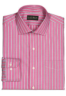 Lauren Ralph Lauren Dress Shirt Classic-Fit Warren Striped Oxford Dress Shirt