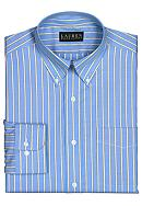 Lauren Ralph Lauren Dress Shirt Classic-Fit Striped Oxford Dress Shirt