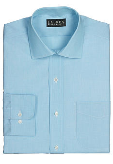 Lauren Ralph Lauren Dress Shirt Classic-Fit Warren End-on-End Cotton Dress Shirt