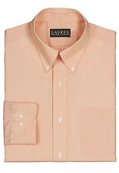 Lauren Ralph Lauren Dress Shirt Classic-Fit End-on-End Cotton Dress Shirt