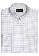 Lauren Ralph Lauren Dress Shirt Non-Iron Classic-Fit Tattersall Cotton Broadcloth Dress Shirt
