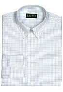 Lauren Ralph Lauren Dress Shirt Slim-Fit Tattersall Cotton Broadcloth Dress Shirt