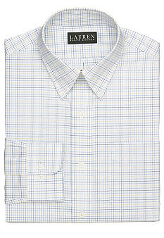 Lauren Ralph Lauren Dress Shirt Slim-Fit Tattersall Button-Down Shirt