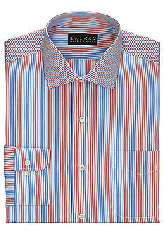 Lauren Ralph Lauren Dress Shirt Classic-Fit Striped Pocket Dress Shirt