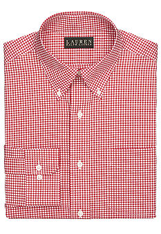 Lauren Ralph Lauren Dress Shirt Classic-Fit Checked Button-Down Shirt