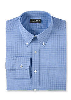 Lauren Ralph Lauren Dress Shirt Classic-Fit Plaid Dress Shirt