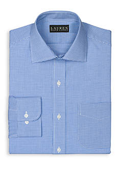 Lauren Ralph Lauren Dress Shirt Slim Micro-Checked Warren Dress Shirt