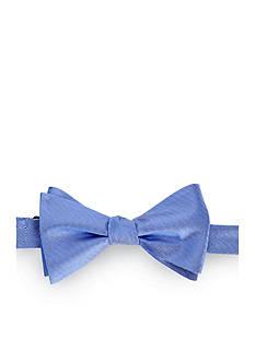 Lauren Ralph Lauren Neckwear Self- Tie Chevron Silk Bow Tie