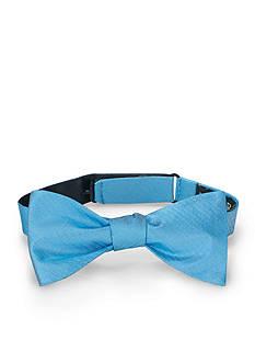 Lauren Ralph Lauren Neckwear Pre- Tied Chevron Silk Bow Tie