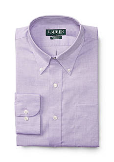 Lauren Ralph Lauren Dress Shirt Classic Fit Dress Shirt