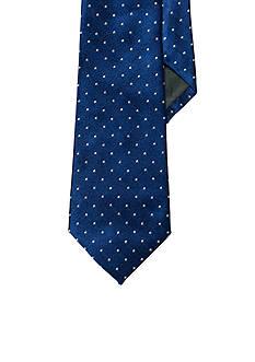 Lauren Ralph Lauren Neckwear Pin Dot Silk Tie