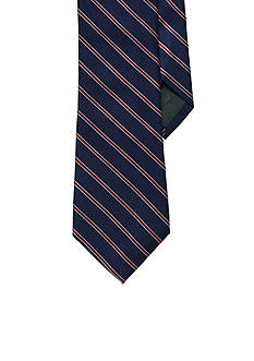Lauren Ralph Lauren Neckwear Striped Silk Twill Tie