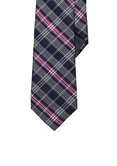 Lauren Ralph Lauren Neckwear Plaid Silk-Blend Tie