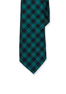 Lauren Ralph Lauren Neckwear Printed Buffalo Silk Tie
