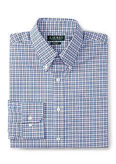 Lauren Ralph Lauren Dress Shirt Classic-Fit Gingham Dress Shirt