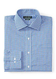 Lauren Ralph Lauren Dress Shirt Classic-Fit Checked Warren Dress Shirt