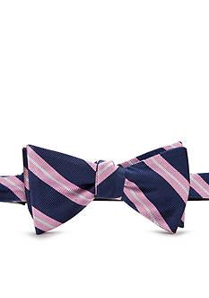 Lauren Ralph Lauren Neckwear Self-Tie Regency Prep Stripe Bow Tie