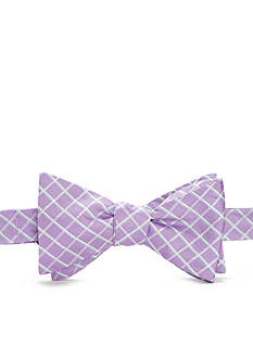 Lauren Ralph Lauren Neckwear Self-Tie Seasonal Check Plaid Bow Tie