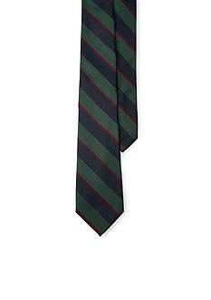 Lauren Ralph Lauren Silk and Wool Stripe Tie